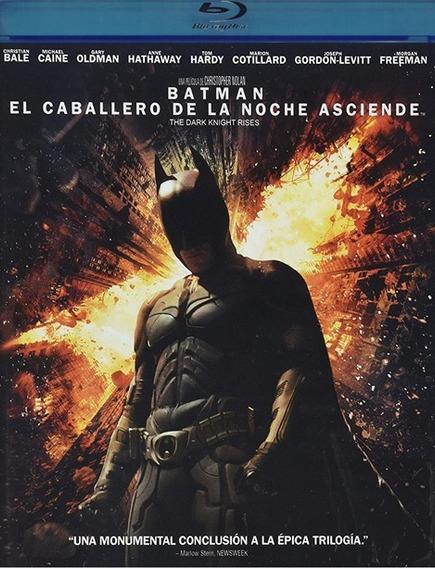 El Caballero De La Noche Asciende Batman Pelicula Blu-ray