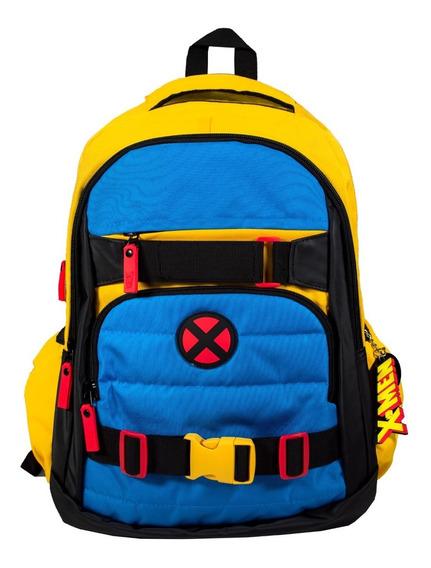 Mochila Yadatex Xmen Wolverine Amarillo Y Envío Gratis Y Msi