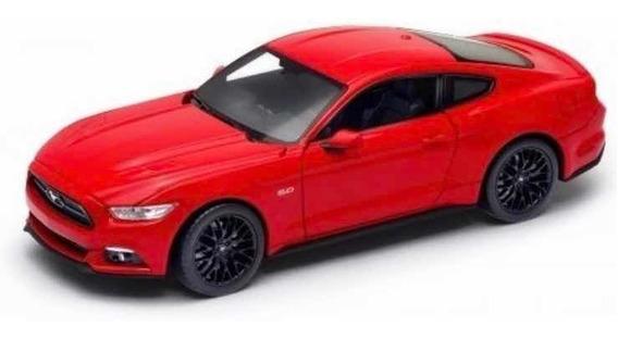 Auto De Colección Ford Mustang 2015 1/24 Welly