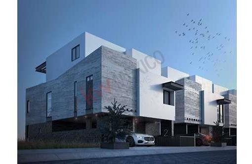 Venta Astorga Town Houses, Departamento De Lujo, En Privada Villandares, Zona Del Pedregal. Prototipo C