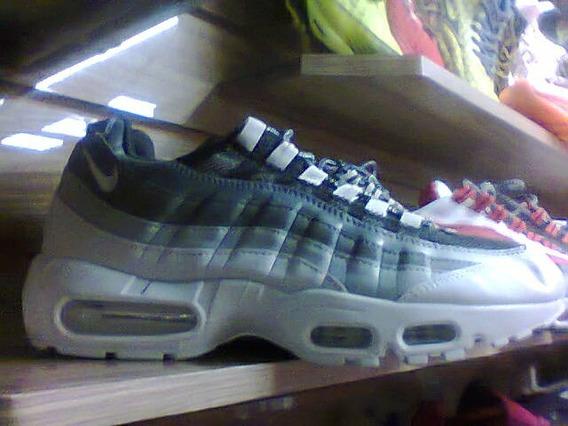 Tenis Nike Air Max 95 Cinza E Branco Nº38 Ao 43 Original
