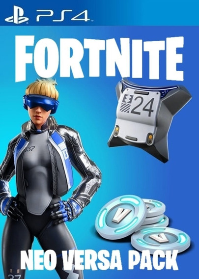 Fortnite - Epic Neo Versa Bundle + 500 V-bucks Ps4 Br