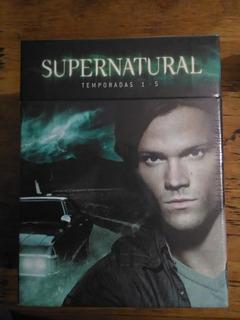 Supernatural Boxset Temporadas 1-5
