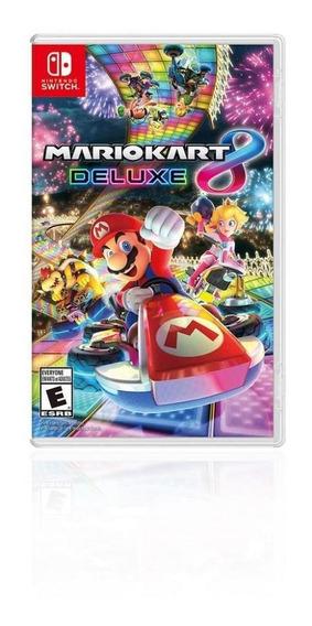 Jogo Game Infantil Mario Kart 8 Delux - Nintendo