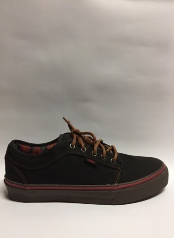 Tenis Vans Chukka Low Washed Canvas Black Gum 6769 Original