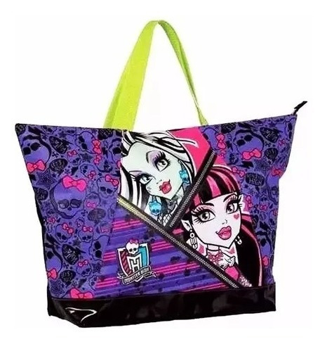 Bolsa Monster High Sacola Escolar Shopping Academia 06263600