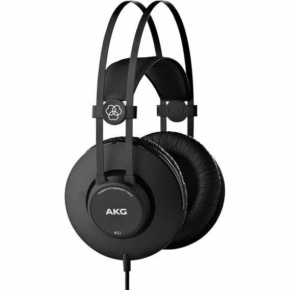 Fone Ouvido Headphone Profissional Akg K52 Original K 52