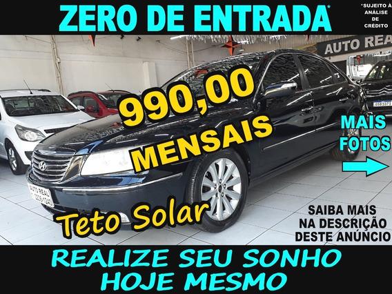 Azera Com Teto | Hyundai Azera Com Teto Solar 2009 | Top.