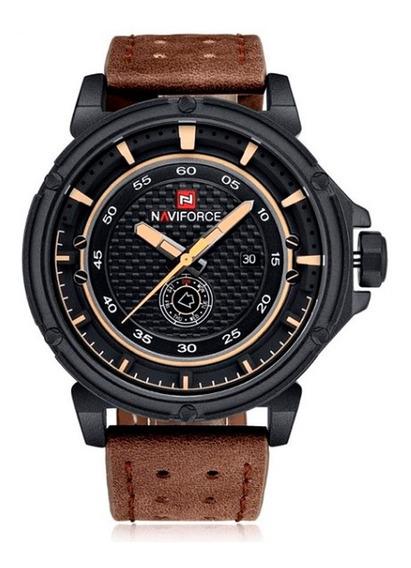Relógio Masculino Marca De Luxo Naviforce C/ Frete Grátis