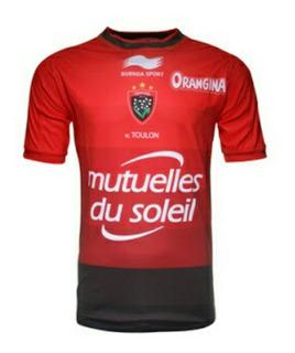 Camiseta Rugby Toulon 2016 All Blacks Liquida