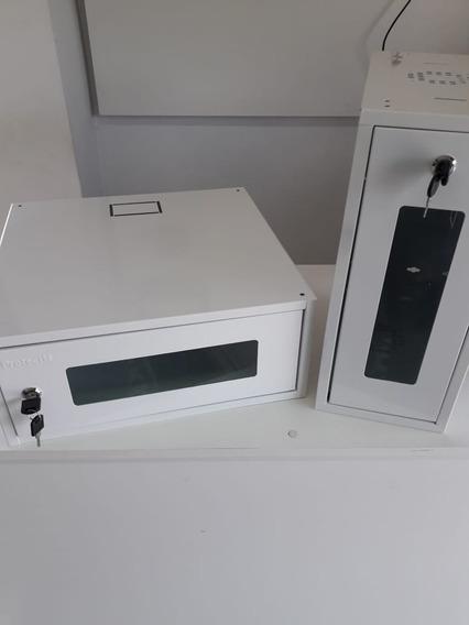 Mini Rack Organizador Para Dvr Protect M Metalico