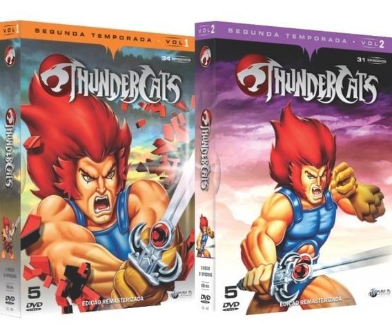Dvd Thundercats - Segunda Temporada Completa