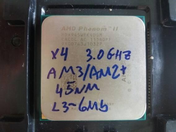 Processador 3ghz Amd Phenon Ii X4 Quad Core. Envio T.brasil