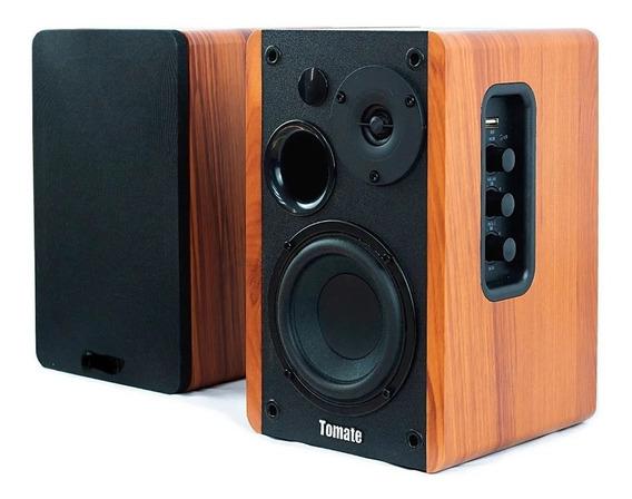 Caixa De Som Ativa Mts 2026 Bluetooth Óptico 100w