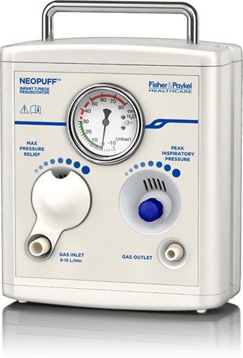 Reanimador En T Neumatico Neonatal Neopuff Rd900