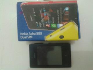 Celular Nokia Asha 500 Usado Com Defeito
