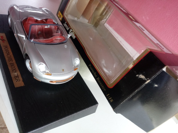 Porsche Boxter 1.18 Maisto Burago Ut Models Jada Muscle