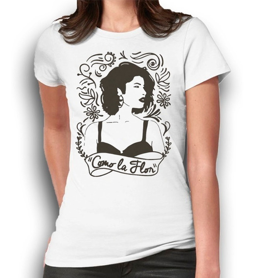 Selena Quintanilla Grafico Playera Personalizada