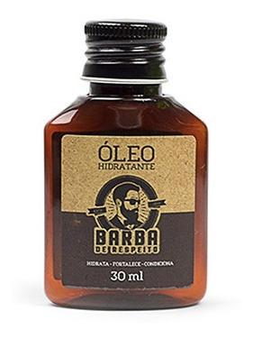 Óleo Hidratante Barba - Barba De Respeito 30ml