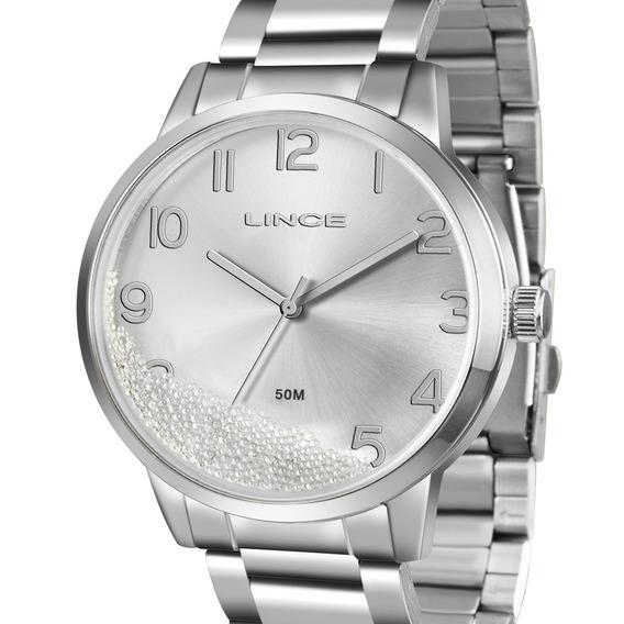 Relógio Lince Feminino Lrm4379l S2sx Original + N. Fiscal