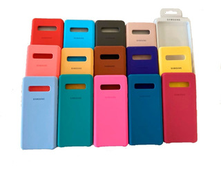 Capa Capinha Case Silicone Compatível Samsung S10 S10e S10+
