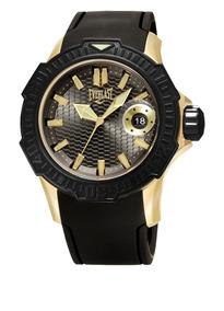 Relógio Everlast Caixa Aço E Pulseira Silicone E578