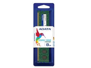 Memoria Ram Pc10600 Adata Ad3u1333w8g9-s Adata Memdat1840