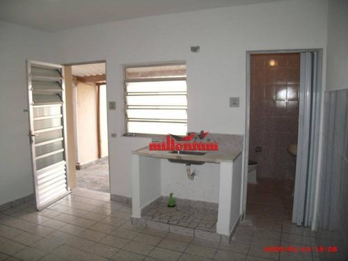 Casa Com 1 Dormitório Para Alugar, 45 M² Por R$ 900,00/mês - Vila Laís - São Paulo/sp - Ca0022