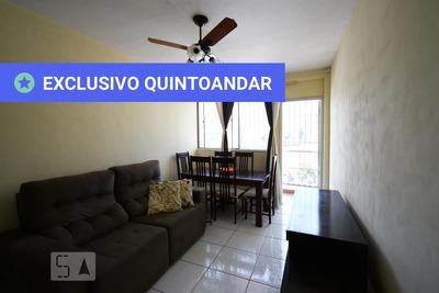 Apartamento No 5º Andar Mobiliado Com 2 Dormitórios E 1 Garagem - Id: 892887110 - 187110