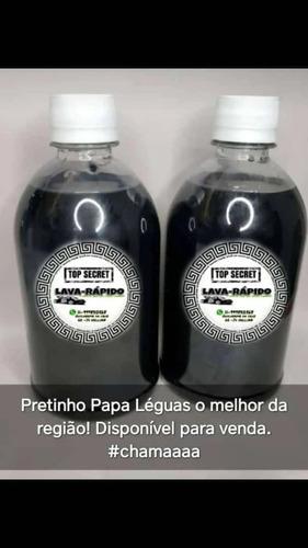 Imagem 1 de 2 de Shampoo Com Cera, Pretinho Papa Léguas E Cheirinho Ferrari