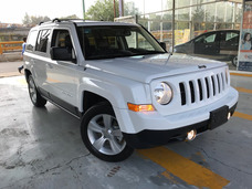 Jeep Patriot Limited Cvt Piel Quemacocos Gps