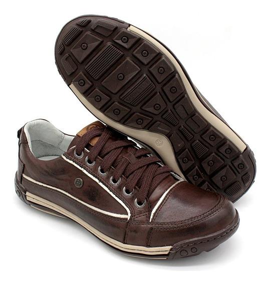 Sapato Bmbrasil Masculino Casual Palmilha Pu Gel 114