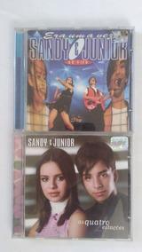 2 Cds Sandy E Junior Ao Vivo Quatro Estacoes Frete Gratis
