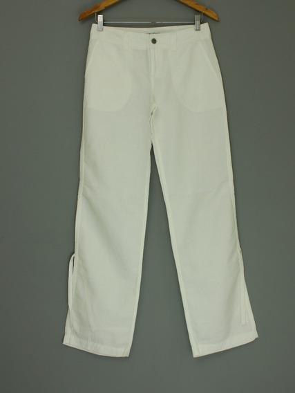 Calça Feminina Linho Calvin Klein - Tamanho 2 (veste 36)