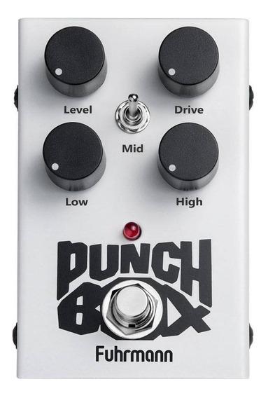 Pedal De Efeito Para Guitarra Fuhrmann Punch Box Overdrive