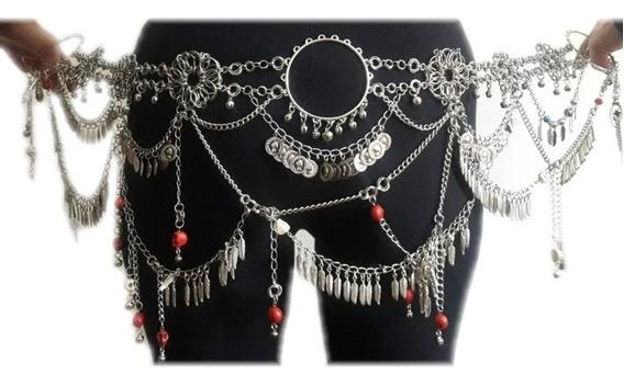 Cinturón, Caderin Danza Tribal Fusión, Árabe, Bellydance