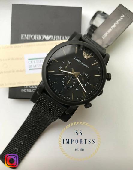 Relógio Emporio Armani Ar1968 Original Masculino C/ Garantia