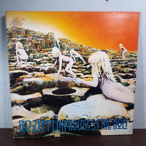 Imagem 1 de 8 de Vinil Lp Led Zeppelin Houses Of The Holy Com Estado.