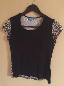 Camiseta Estampado Leopardo