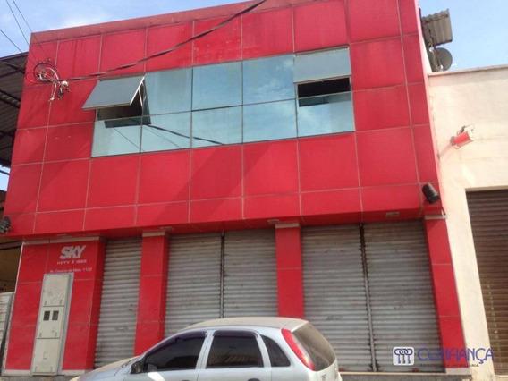 Prédio Comercial Para Locação, Campo Grande, Rio De Janeiro. - Pr0008