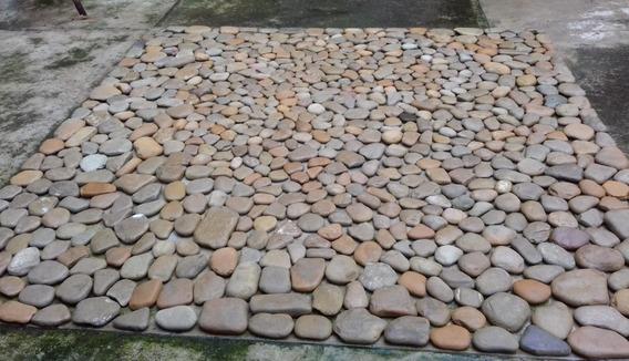 Piedra De Laja De Río Decorativa Para Jardínes, Fachadas...