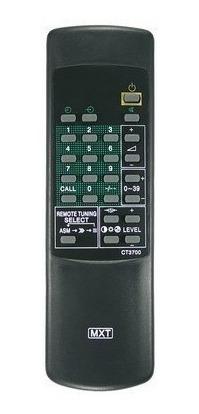Kit Com 10x Controle Remoto Tv Toshiba Ct3700 Envio Imedato