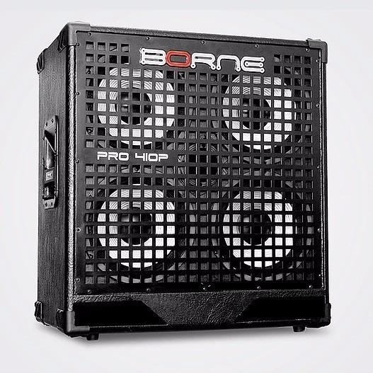 Caixa Borne 410a 300w 4x10 Cone Aluminio P/ Contrabaixo