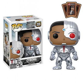 Funko Pop Cyborg #209 - Miltienda - Justice League