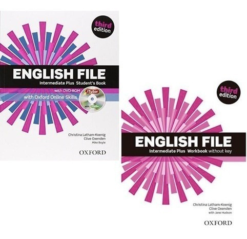 English File Intermediate Plus Student´s Book And Workbook