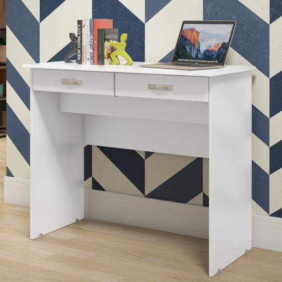 Escrivaninha Mesa De Computador Andorinha 2 Gavetas - 2 Cor