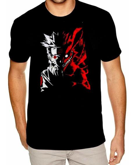Camisa Naruto Camiseta Raposa Promoção Só Hoje Barato Oferta