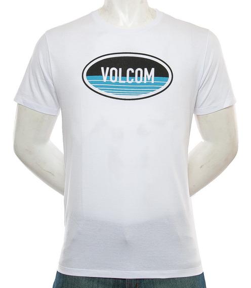 Remera Oval Volcom Fluid Tienda Oficial