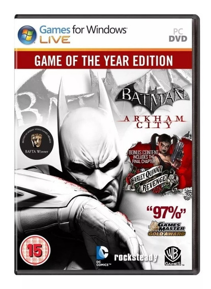 Batman Arkham City Goty Pc - 100% Original (steam Key)