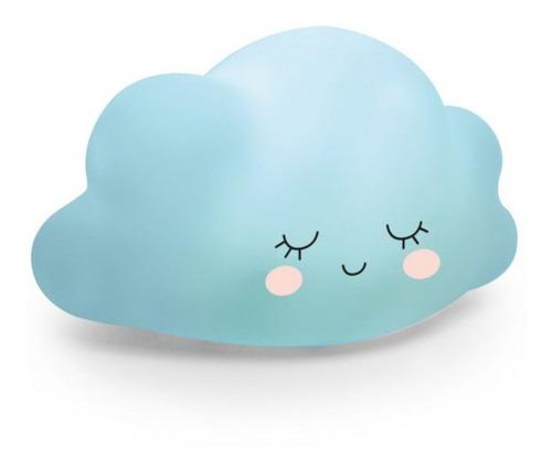 Mini Luminária Nuvem Azul Festa Pedacinho Do Céu - Cromus